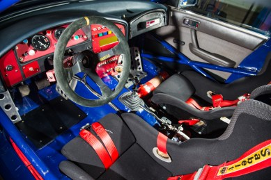 1993 Subaru Legacy RS Group A Ex-Prodrive Rally Car interior 1 2000px