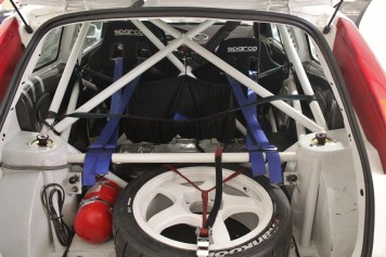 1999 Ford Focus WRC Rally Car - Ex-Colin McRae interior 4