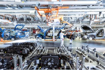 Audi Site Ingolstadt Production of the Audi Q2: Assembly – Frontend assembly