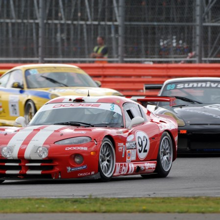 Silverstone Classic 2016, 29th-31st July, 2016, Silverstone Circuit, Northants, England. Nadine Geary (FRA) Chrysler Viper GTS-R Copyright Free for editorial use only Mandatory credit – Jakob Ebrey Photography