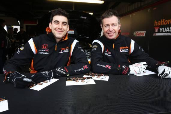 BTCC Honda Drivers