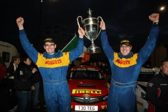 Keith Cronin/Barry McNulty - Pirelli/TEG Sport Subaru Impreza N15
