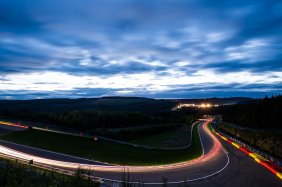 July 27-30, 2017 - Total 24 Hours of Spa, Spa atmosphere at sunset.