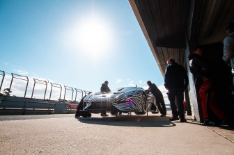 BRABHAM_BT62 in pitlane on airjacks
