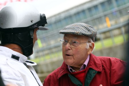 Silverstone Classic (20-21 July 2018) Preview Day, 2 May 2018, At the Home of British Motorsport. Murray Walker Free for editorial use only. Photo credit - JEP