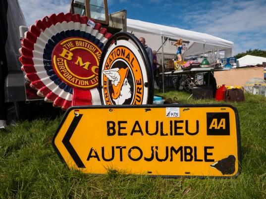 International Autojumble sign