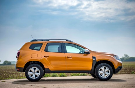 new Dacia Duster e