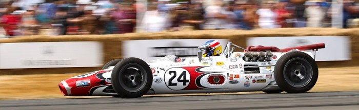 3. Lola - Ford T90 'Bowes Seal Fast Special'