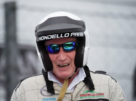 David Kennedy at the recent Mondello Historic Festival, where he demonstrated the circuit Museum's Ford C100. Image from Michael Chester.