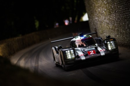 2016 Goodwood Festival Of Speed 23rd - 26th June 2016 FoS Sunday, 26th June. Goodwood, England. Photo: Nick Dungan Track Action Porsche 919, Le Mans, WEC
