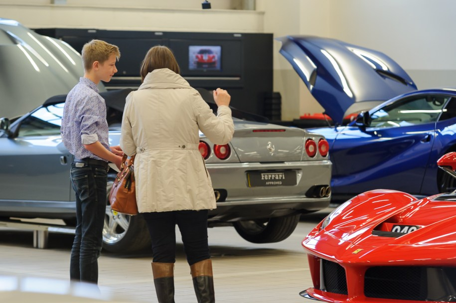 Dick Lovett Swindon - dreaming of being a Ferrari Apprentice