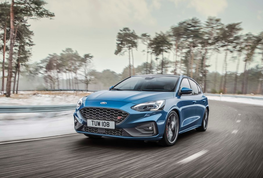 new Ford Focus ST a