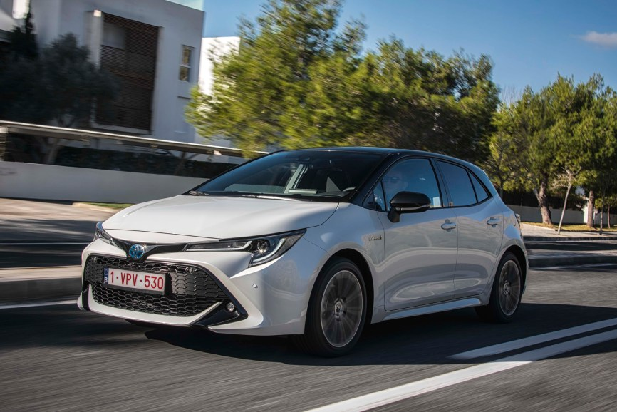 new Toyota Corolla Hatchback