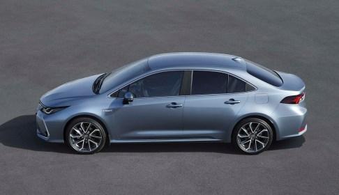 new Toyota Corolla Sedan