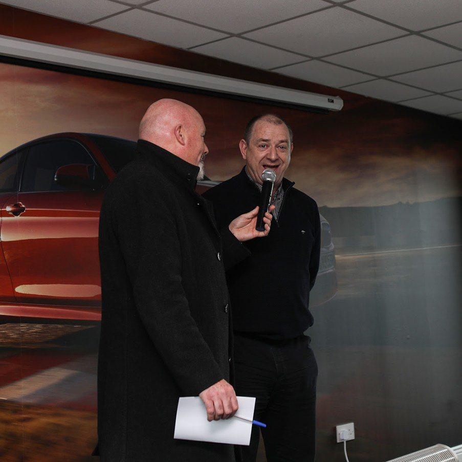 Leo Nulty chats with John Naylor, President, Motorsport Ireland
