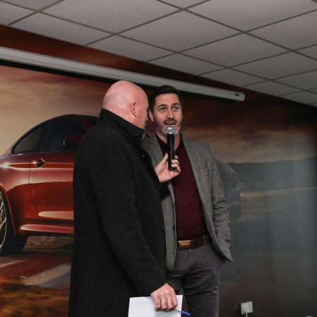 Leo Nulty chats with Roddy Greene, MD, Mondello Park