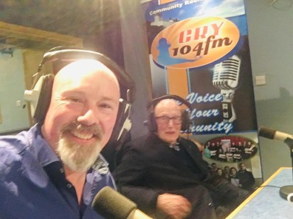 Leo and Jack on CRY FM