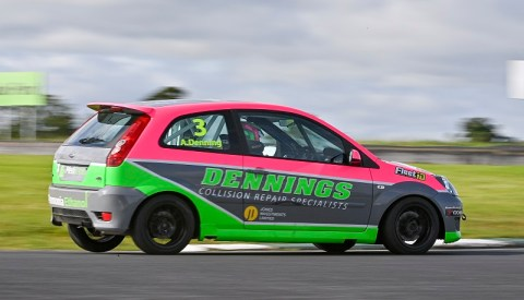 Alex Denning 2020 Coffee2Go Fiesta ST Champion. Image from Michael Chester