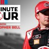 10-Minute Tour: Christopher Bell, Jeff Burton tour NBC compound  | Dover International Speedway