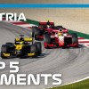 Top 5 Formula 2 Moments | 2020 Austrian Grand Prix