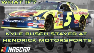 What if Kyle Busch never left Hendrick Motorsports? | NASCAR Cup Series | What If Series