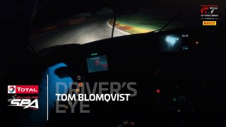 Driver's Eye: Spa at night with Tom Blomqvist