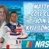 How Matt DiBenedetto started racing and Cole Custer's thick hair | The Kyle Long Show, Episode 5