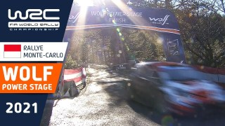 WRC – Rallye Monte-Carlo 2021: HIGHLIGHTS Wolf Power Stage