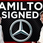 Lewis Hamilton Signs With Mercedes For F1 2021