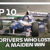 Top 10 Drivers Who Lost A Maiden Win