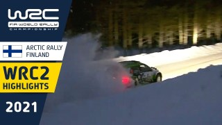 WRC2 Saturday Highlights – Arctic Rally Finland 2021 Powered by CapitalBox