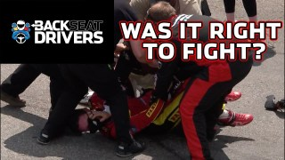 Fight breakdown: Martinsville tempers boil over and Truex walks away the winner: Backseat Drivers