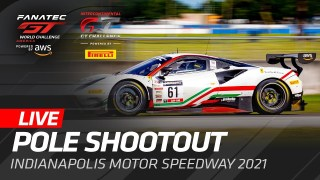 POLE SHOOTOUT | INDY 8 HOUR | IGTC AND GT WORLD CHALLENGE AMERICA – INDIANAPOLIS 2021