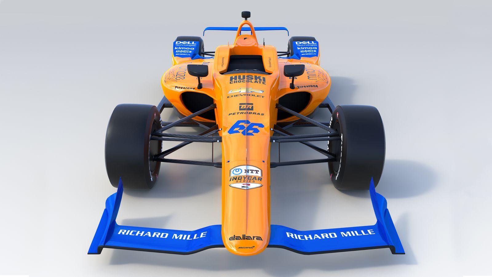 #McLaren66, la nuova McLaren di Alonso per la Indy 500