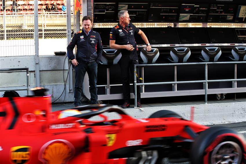 F1 - Horner: Il carburante Ferrari profuma di Pompelmo