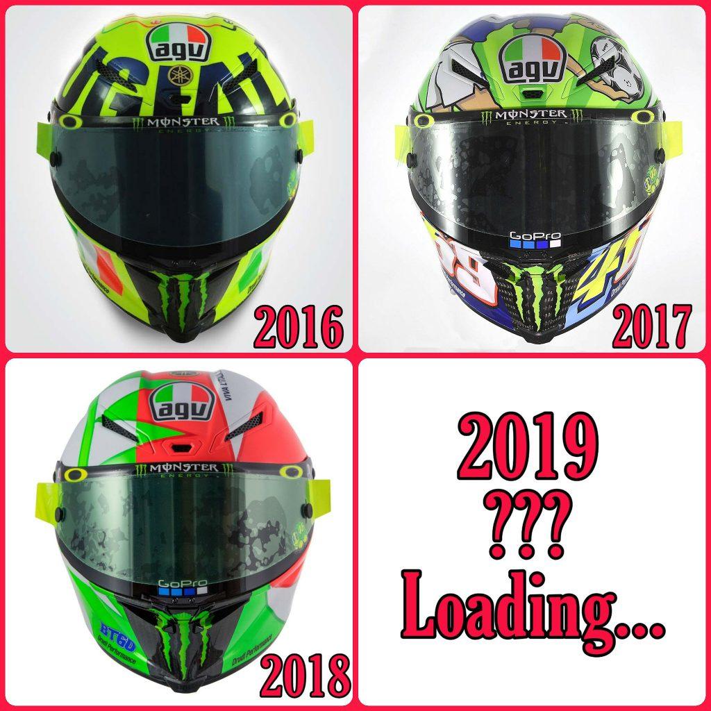 Quale sarà il casco 2019 di Valentino Rossi al Mugello?