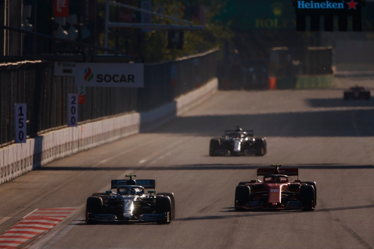 F1 effetto scia gp baku