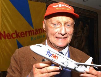 Niki Lauda nel 2003 (JOE KLAMAR/AFP/Getty Images)