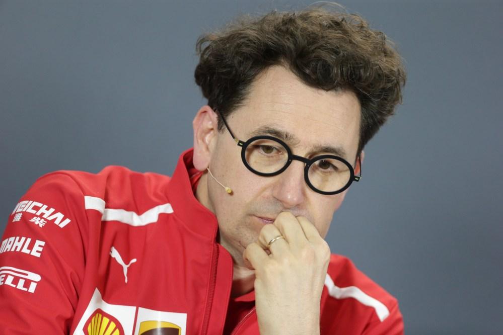 Mattia Binotto comunica che non ci saranno modifiche alla Ferrari SF90h per il Gran Premio del Canada