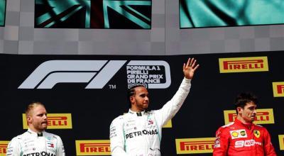 classifica piloti f1 dopo la gara del gp di francia