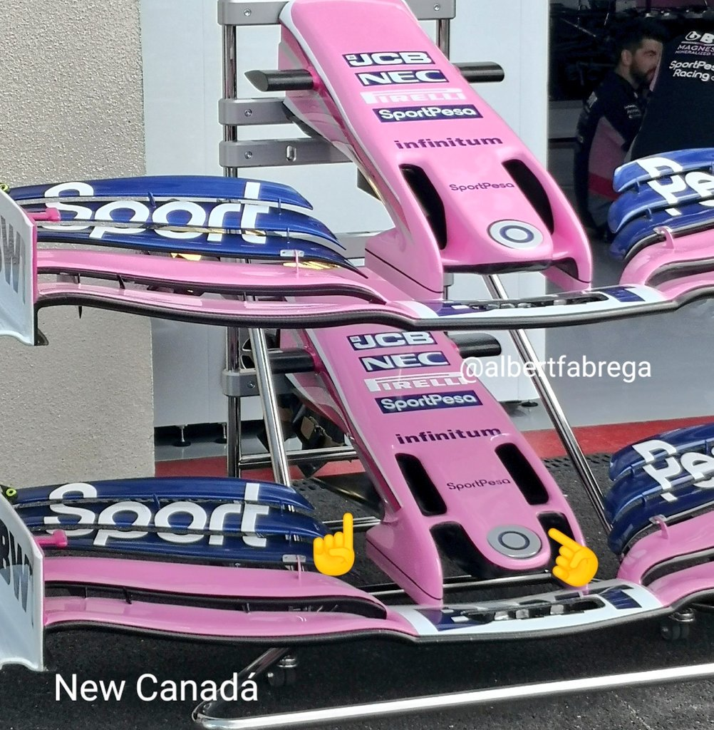 f1 novità tecniche racing point gp francia