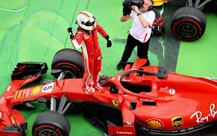 Vettel vince su Ferrari il GP di Canada