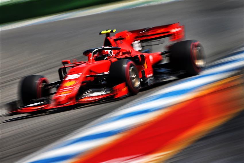 F1 ferrari attese nella fp3 del gp germania