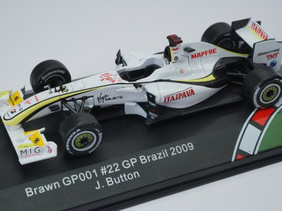 jenson button modellino brawn gp