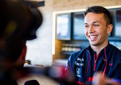 F1 Albon in Red Bull, Retrocesso Gasly