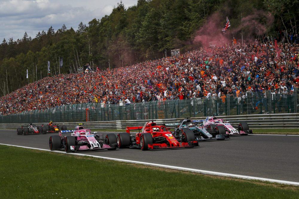 F1 GP Belgio - Orari TV