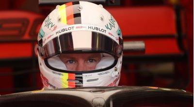 F1 - GP Ungheria - Vettel Ferrari