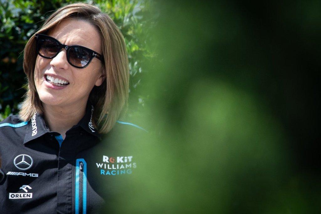 Claire Williams - Rinnovo Williams Mercedes