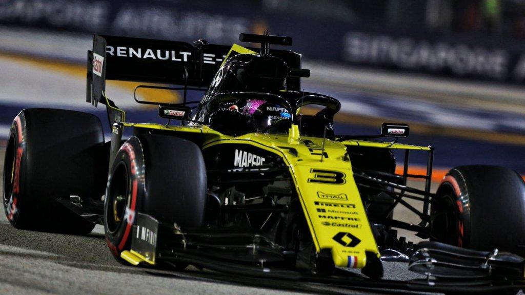 F1 GP Singapore - Diretta Gara - Ricciardo squalificato