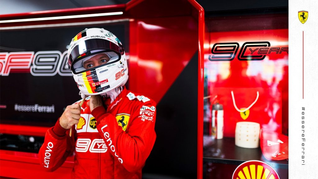 Vettel Ferrari pronto al Q1